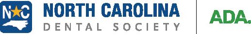 North Carolina Dental Society and ADA logos